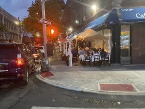 Cafe Renaissance Brooklyn Outdoor Dining